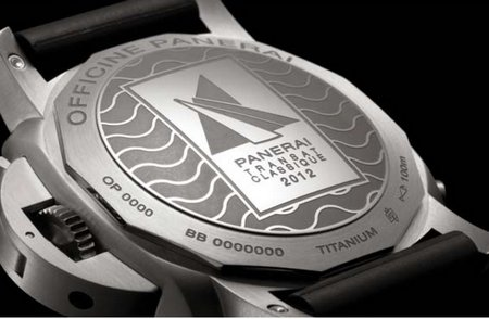 THE PANERAI TRANSAT CLASSIQUE 2012 CHAMPION WILL BE HONOURED WITH THE LUMINOR 1950 RATTRAPANTE 8