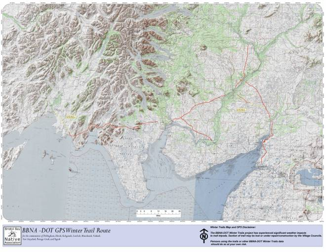 GPS Trail Maps Overview