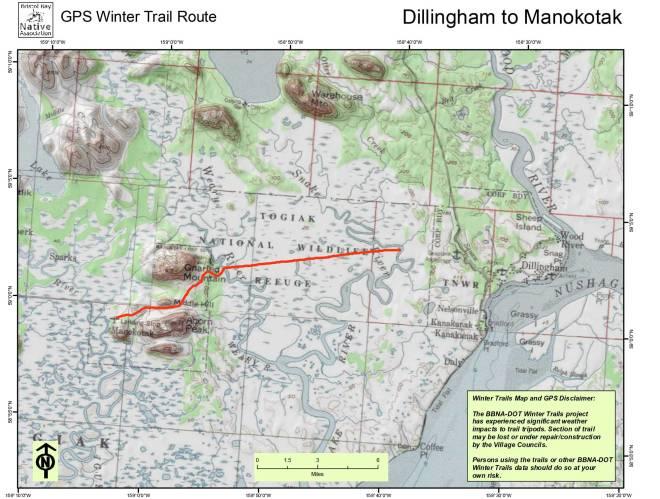 Dillingham to Manokotak
