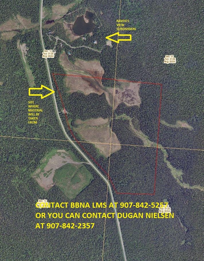 Native Allotment along the Lake Aleknagik Road