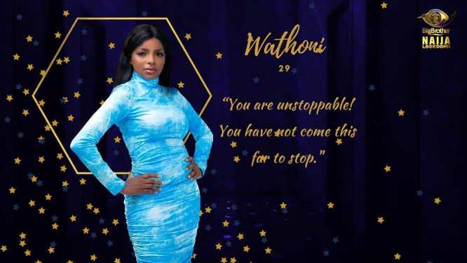 BB Naija 2020: Wathoni's Biography And Profile