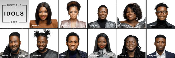Nigerian Idols Season 6 2021