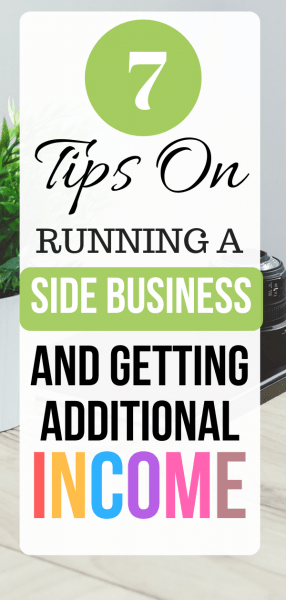 Tips on Running a Side Business