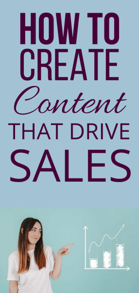 Create Content That Can Increase Sales