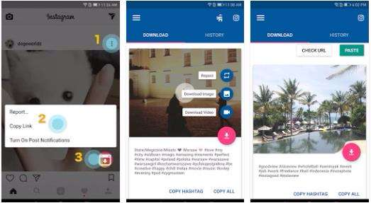 how to download instagram videos on android