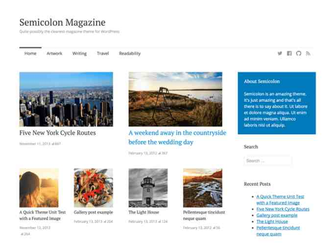 wordpress themes free download responsive with slider