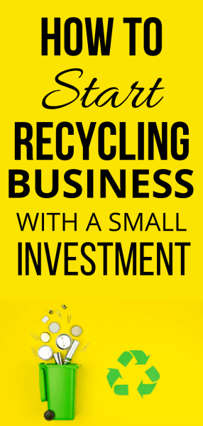 How to Start Recycling Business
