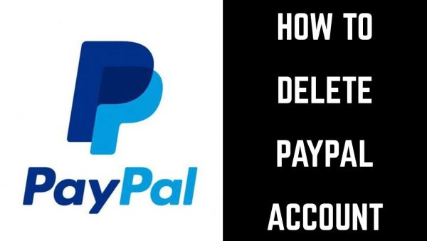 how to delete paypal account mobile