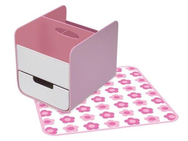 Przenośny organizer na akcesoria niemowlęce b.box Pretty in Pink