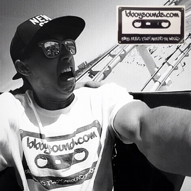 Bboy Hella rocking the #bboysounds #cassette down under! On Sale Now @ bboywear.com!Follow -> @barry_devine_jnr #repost