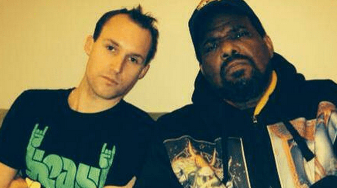 DJ Turntill with Afrika Bambaataa