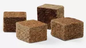 bruine-aanmaakblokjes