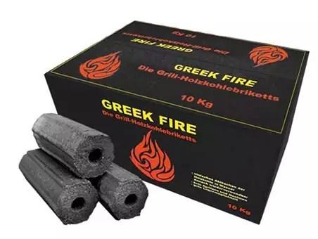 Greek Fire briketten