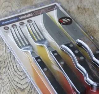 Gewinne ein Jumbo-Steakbesteck-Set von Tramontina