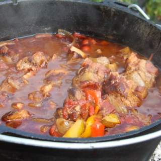 Dutch Oven Schaschlik