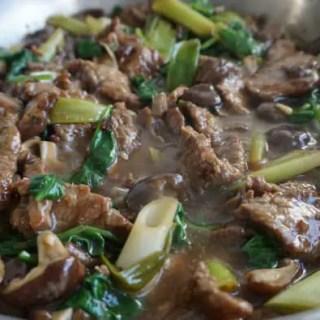 Rindfleisch Asia-Style