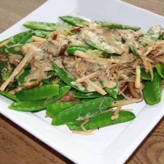 Asia-Gemüse aus dem Cobb-Wok