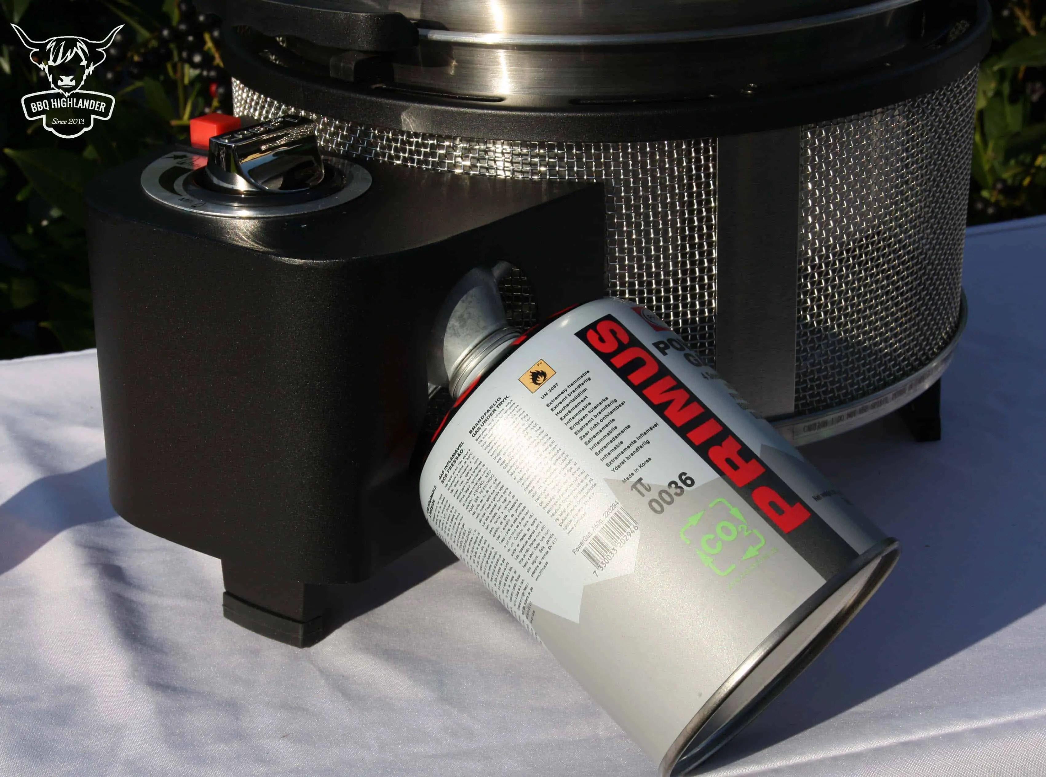 Gas Für Gasgrill : Einweihung des neuen cobb premier gas grill bbq highlander