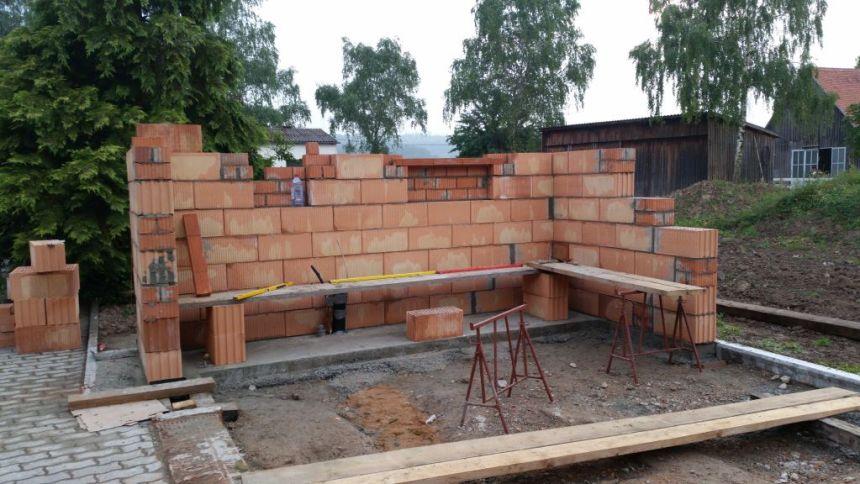 Bau meiner Grill und BBQ Außenküche - Gartenküche Teil 1