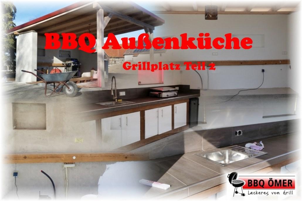 Außenküche Mit Smoker : Außenküche grillplatz outdoorküche teil 2 es geht weiter