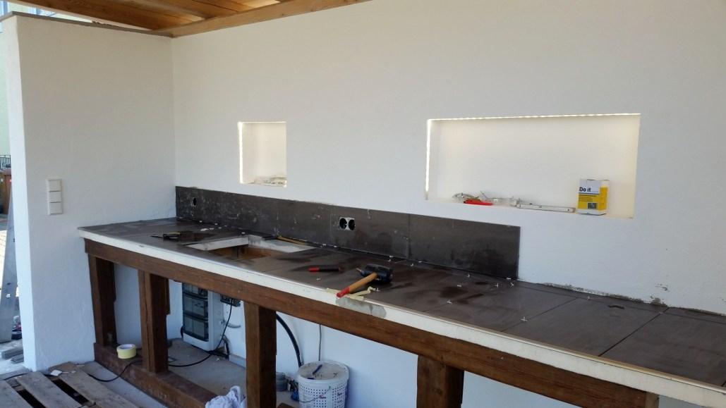 Outdoorküche Tür Xxl : Außenküche grillplatz outdoorküche teil 2 es geht weiter