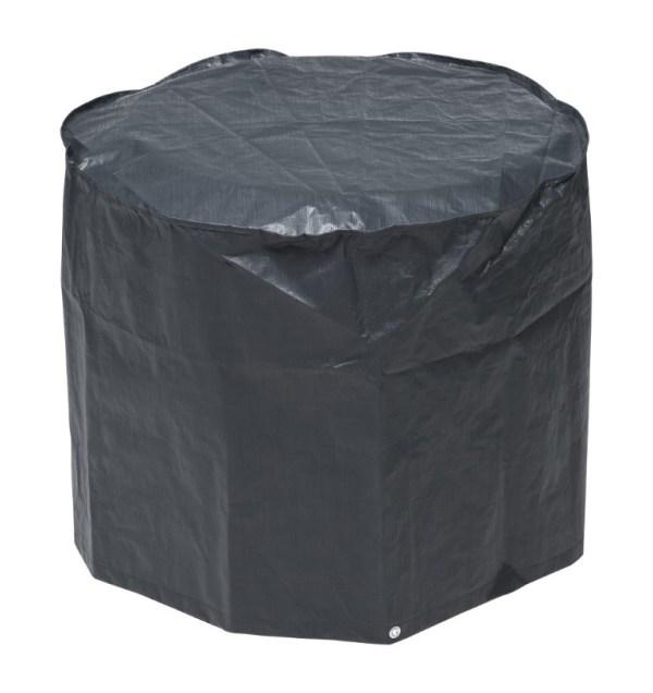 Beschermhoes voor barbecue grijs PE H60x dia. 73cm Nature