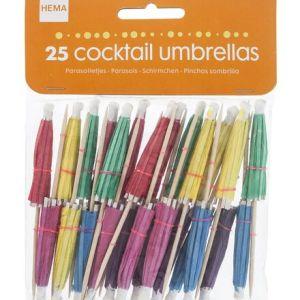 HEMA 25-pak Cocktailprikkers (multi)