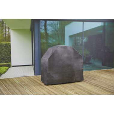 Outdoor Covers barbecue hoes - grijs - 195x65x110 cm - Leen Bakker
