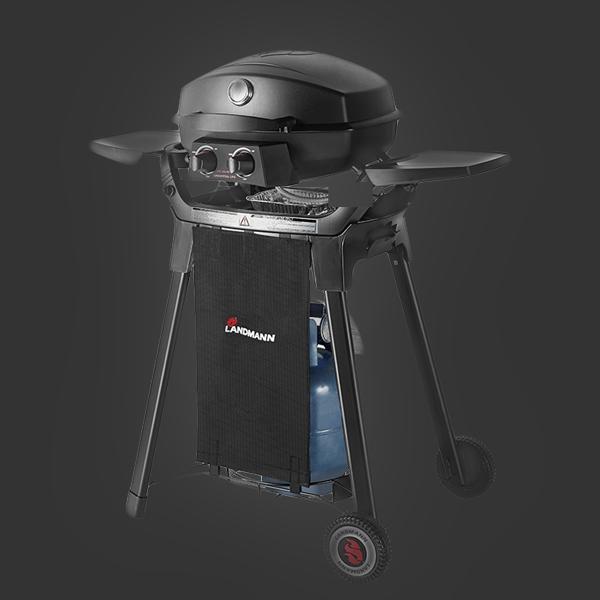 BBQ 家用德國LANDMANN便攜小型石油氣燒烤爐