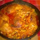 Rezept: Hähnchenkeulen mit gemischtem Gemüse