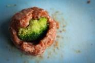Broccoli Stuffed Meatballs