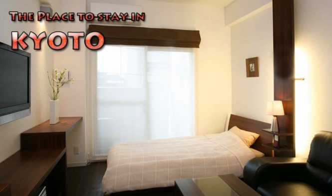Need An Apartment For A Month In Kyoto
