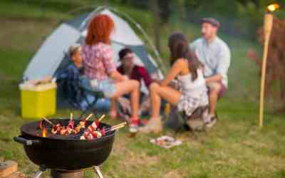How To Grill While Camping