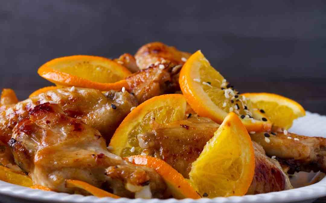 Citrus Sweet Orange Barbecue Sauce