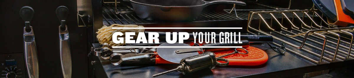 Traeger Wood Pellet Grill Gear Ad