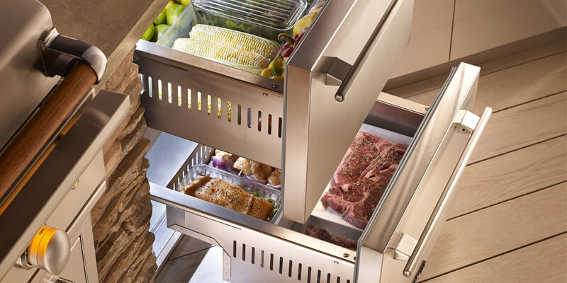 True Refrigeration Drawers - Available at BBQ Concepts of Las Vegas, Nevada