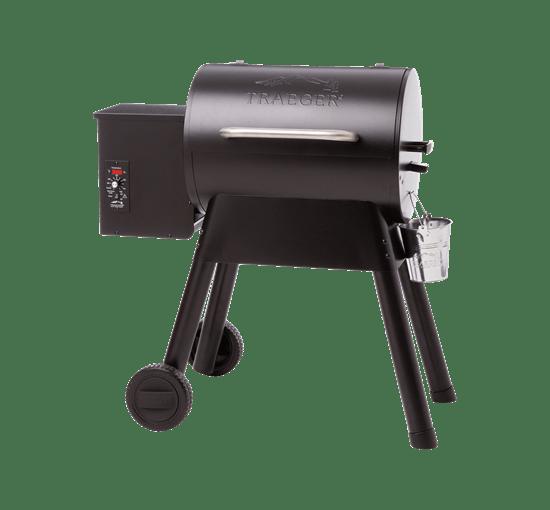 Traeger Bronson 20 Pellet Grill - Black - Front View