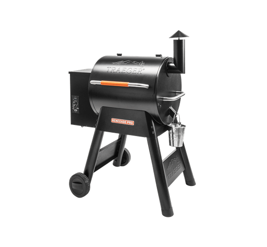 RENEGADE PRO PELLET GRILL - Front View