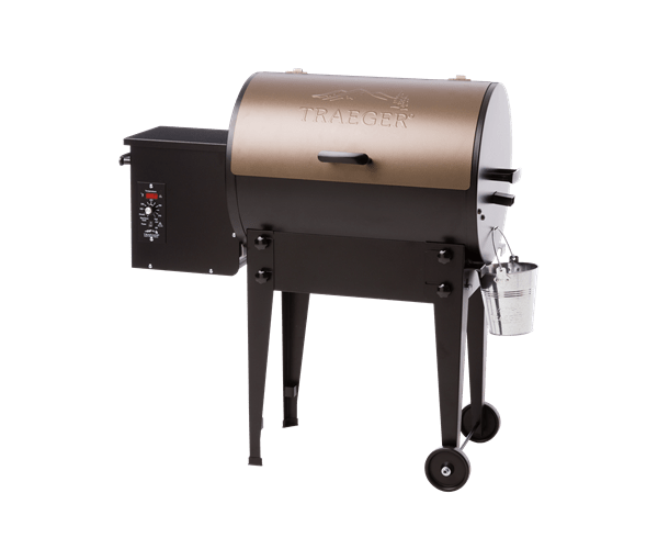 TAILGATER PELLET GRILL - BRONZE - Front View
