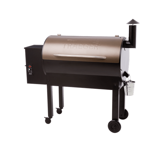 TEXAS ELITE PELLET GRILL 34 - BRONZE - Front View