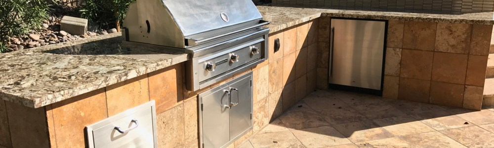 After BBQ Concepts Outdoor Kitchen Remodel