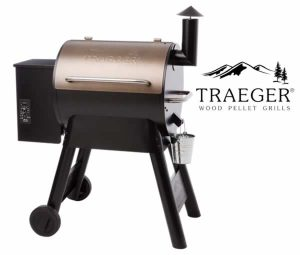 Traeger Pro Series 22 Bronze - Front