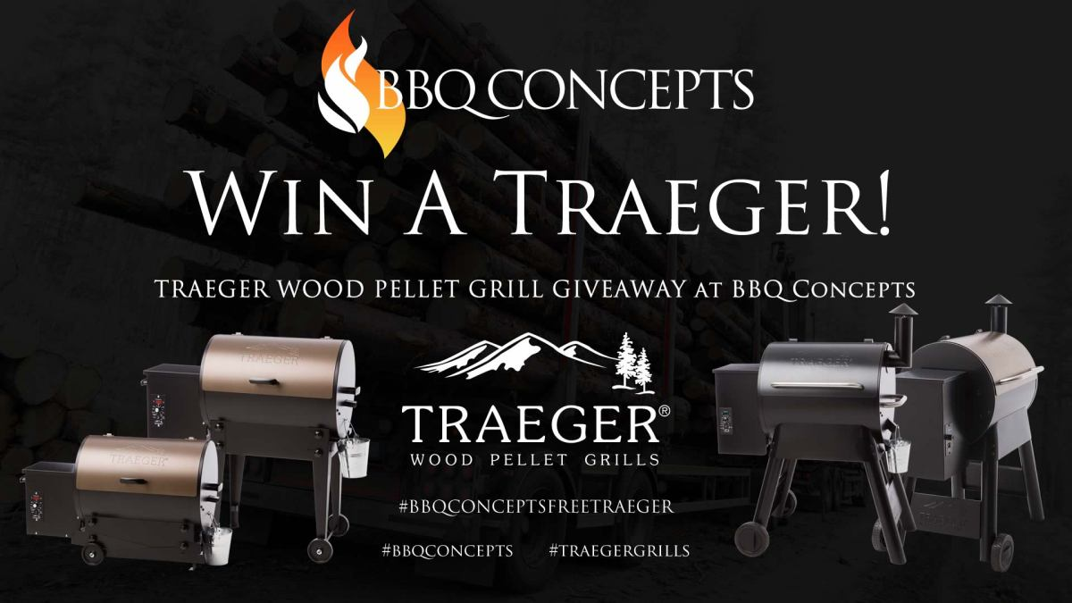 Traeger Day Giveaway Promotion Ad 1 - BBQ Concepts of Las Vegas, Nevada