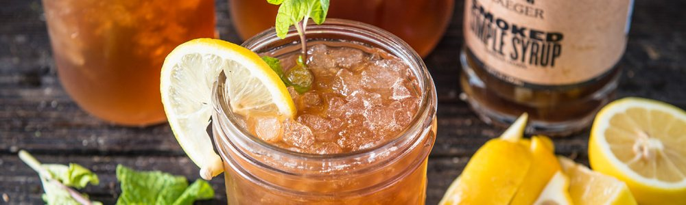 Traeger Wood Fire Grill Drink Recipe - Smoked Arnold Palmer