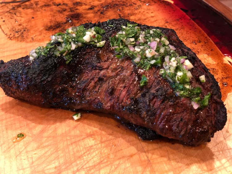 Tri-Tip with Chimichurri Sauce