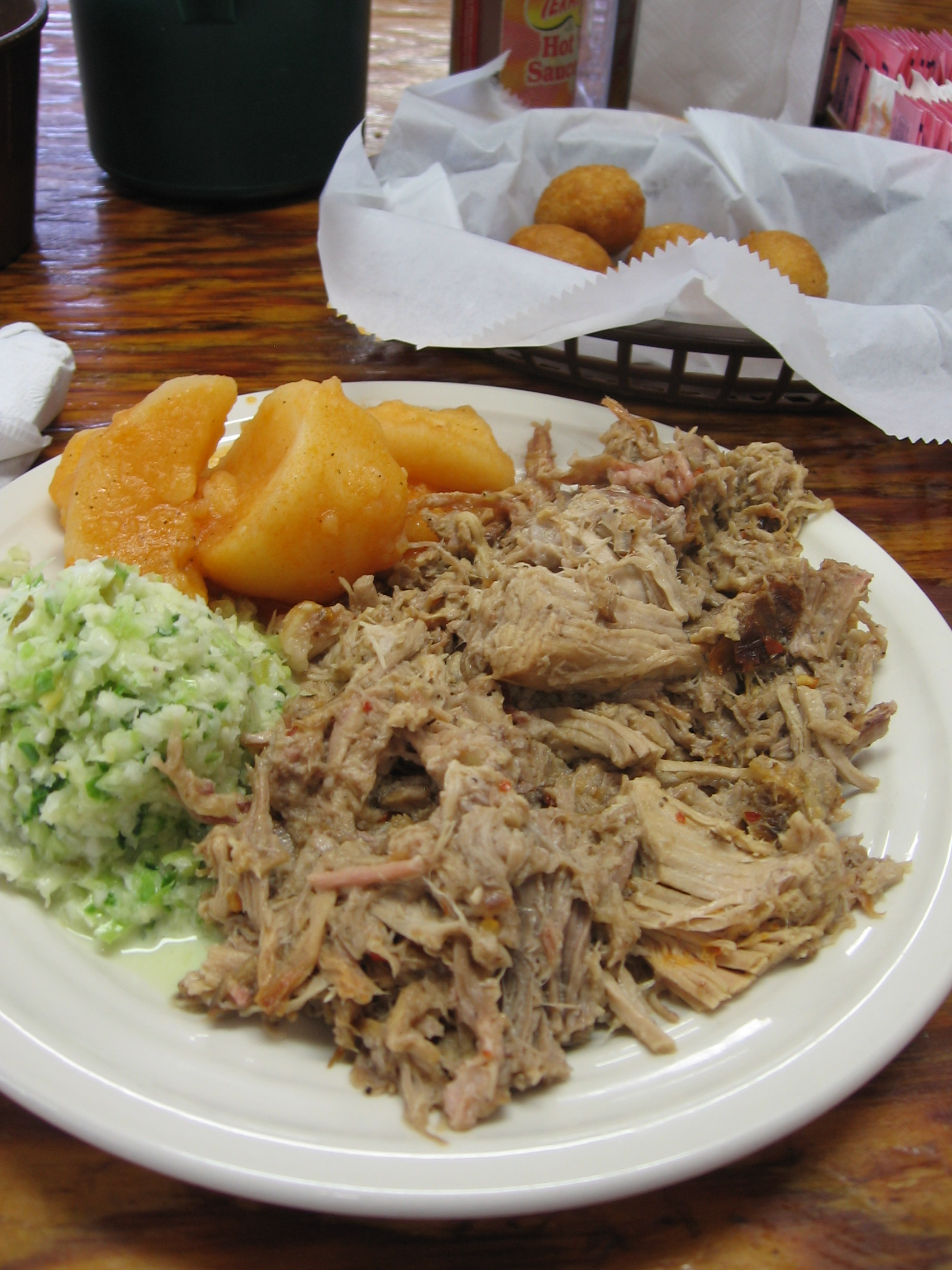 A good looking barbecue plate from Stephenson's.