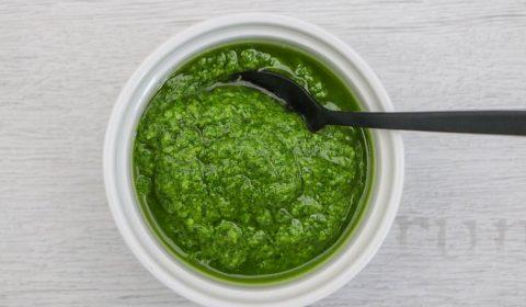 grünes Pesto selbstgemacht