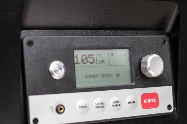 Traeger Super Smoke Modus