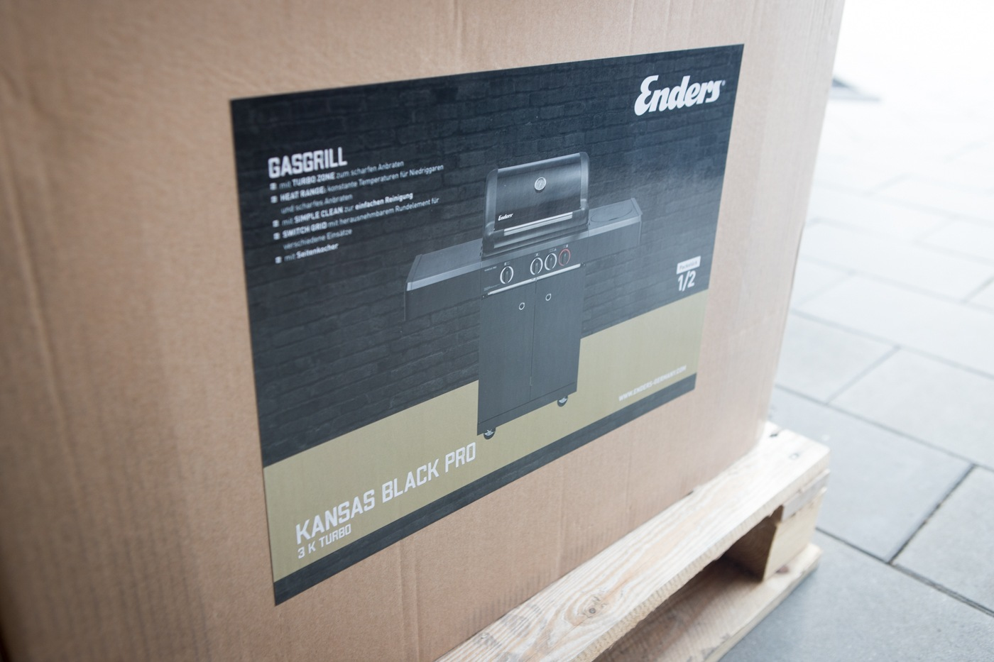 Enders Gasgrill Kansas Black Pro 3 K Turbo : Testbericht enders kansas gasgrill black pro 3 k turbo vorstellung