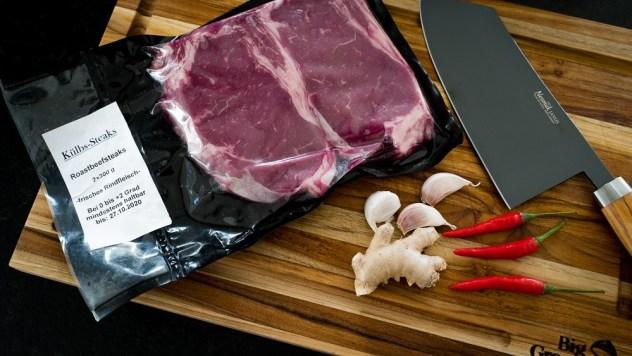 Külbs Steak aus Namibia...